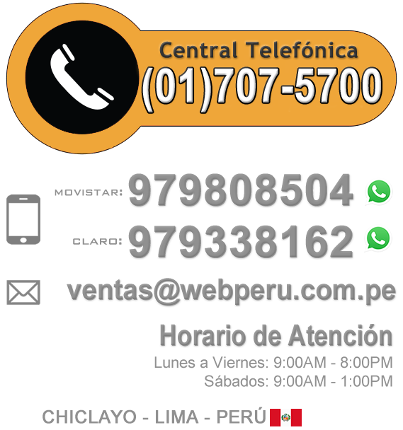 Contactar a WEB PERU